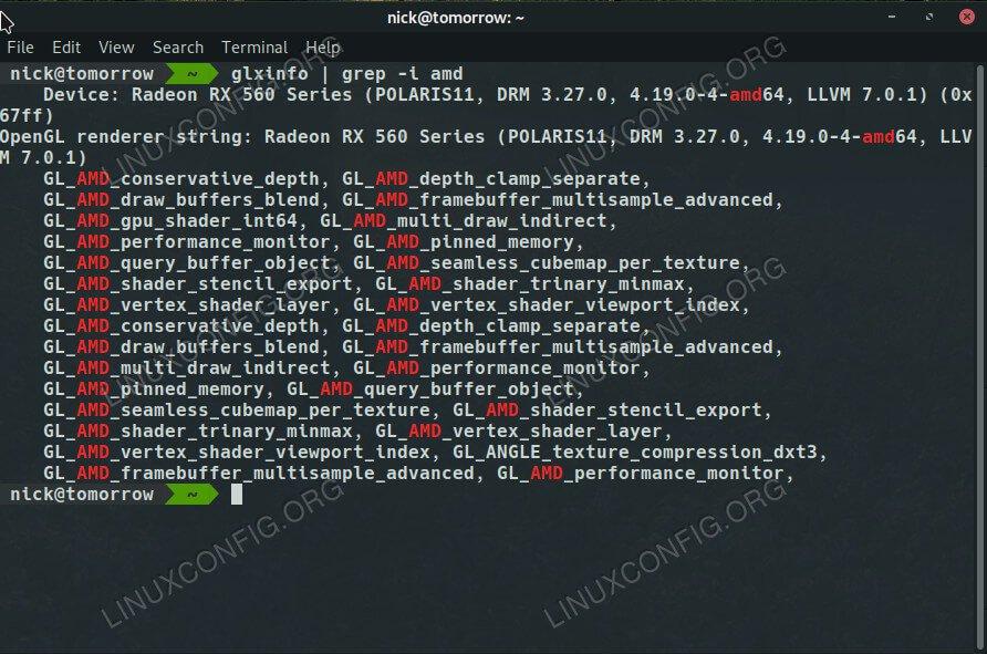AMD Drivers on Debian