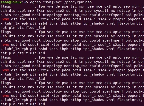 Use /proc/cpuinfo to check CPU architecture