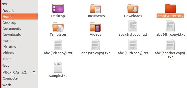 Create directory