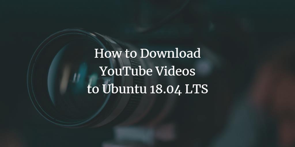 Ubuntu YouTube