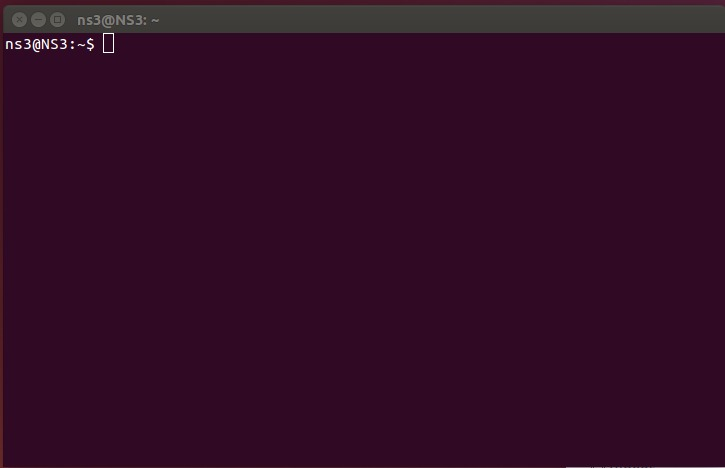 Linux Terminal ready for use
