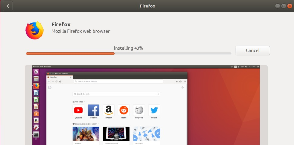 Installing Firefox