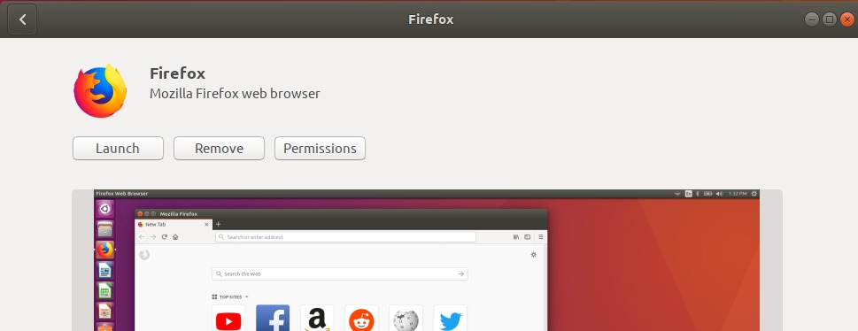 Mozilla Firefox has been successfully installed