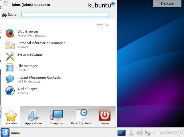 How to install KDE desktop on ubuntu linux