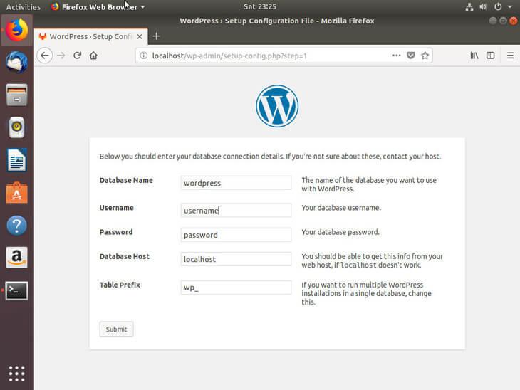 Ubuntu Bionic Connect To WordPress Database