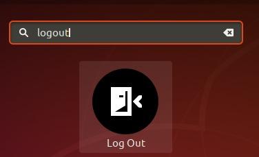 Log Out desktop launcher