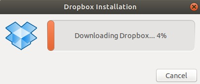 Downloading takes place