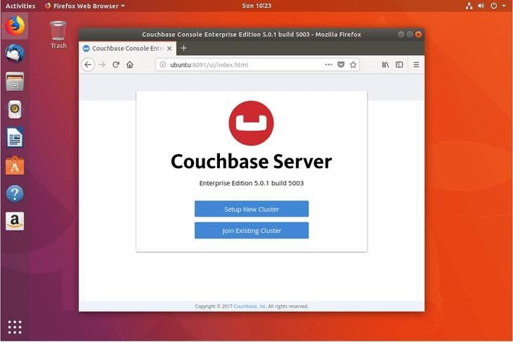 install Couchbase Server on Ubuntu 18.04 Bionic