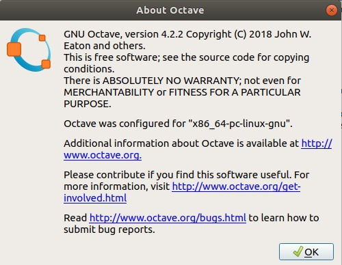 Get the latest version of GNU Octave