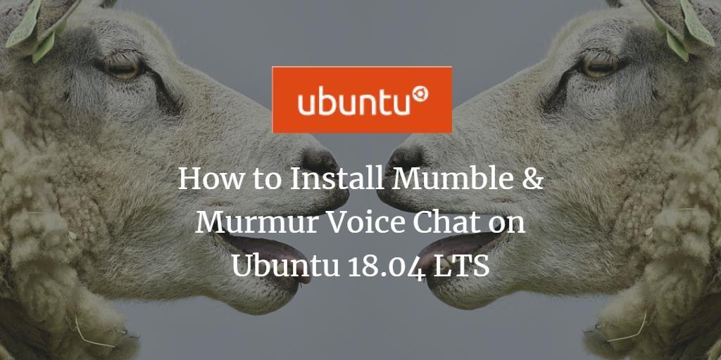 Ubuntu Mumble Voice Chat
