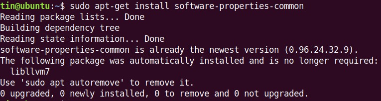 install software-properties-common