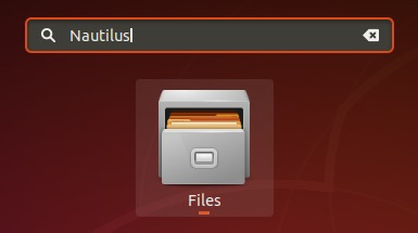 Nautilus is now the file manager in Ubuntu