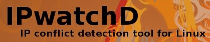 IPwatchD an IP conflict detection tool for Linux