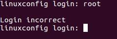 Ubuntu Xenial Xerus 16.04 root login incorrect