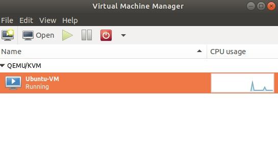 Monitor CPU Usage