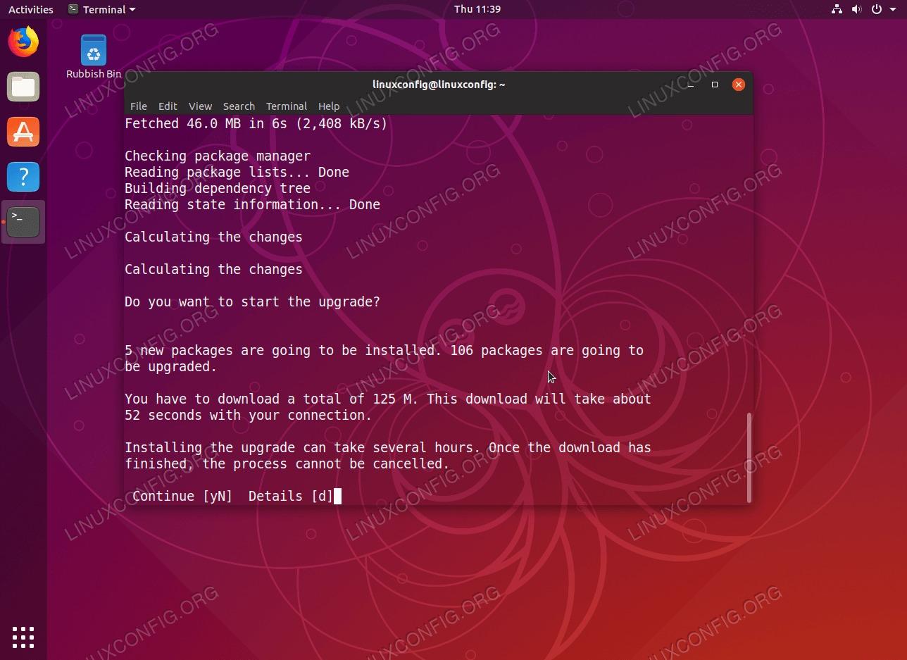 Upgrading to Ubuntu 19.04 Disco Dingo