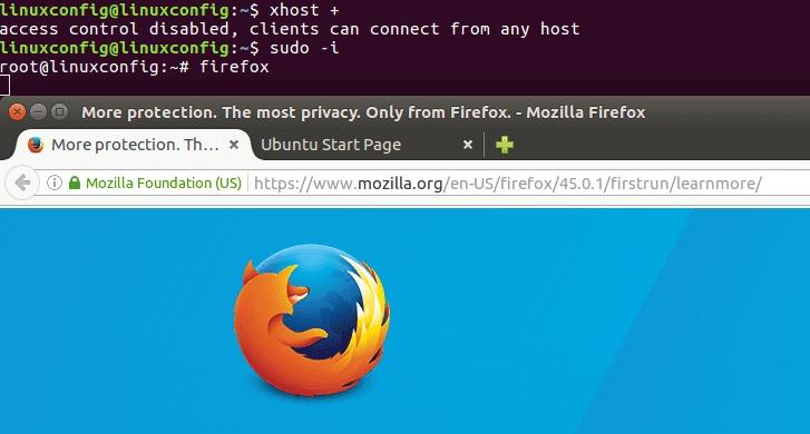 Ubuntu Xenial Xerus 16.04 run gui application as root