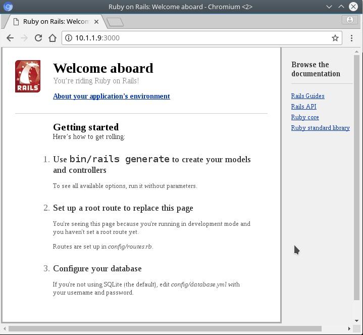 Ruby on Rails on Ubuntu 18.04 Bionic Beaver Linux - repository