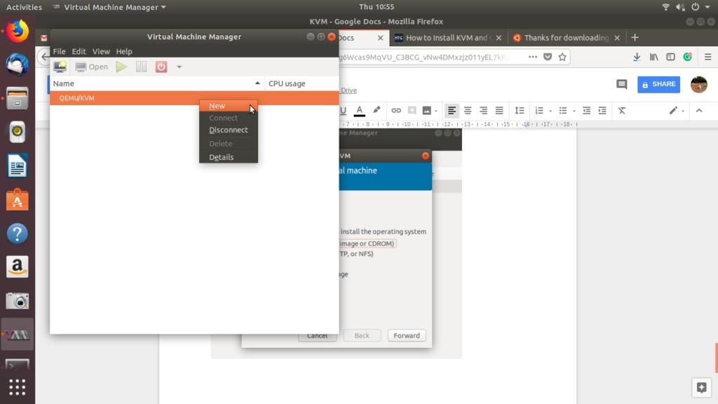 Ubuntu VM Manager