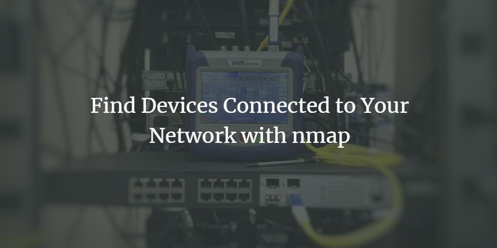 Ubuntu nmap network scan