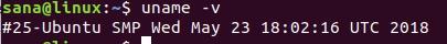 Linux Kernel version
