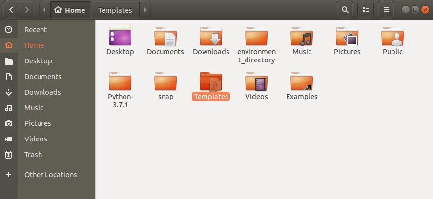 Ubuntu File Manager