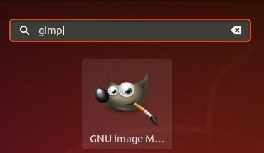 Launch GIMP