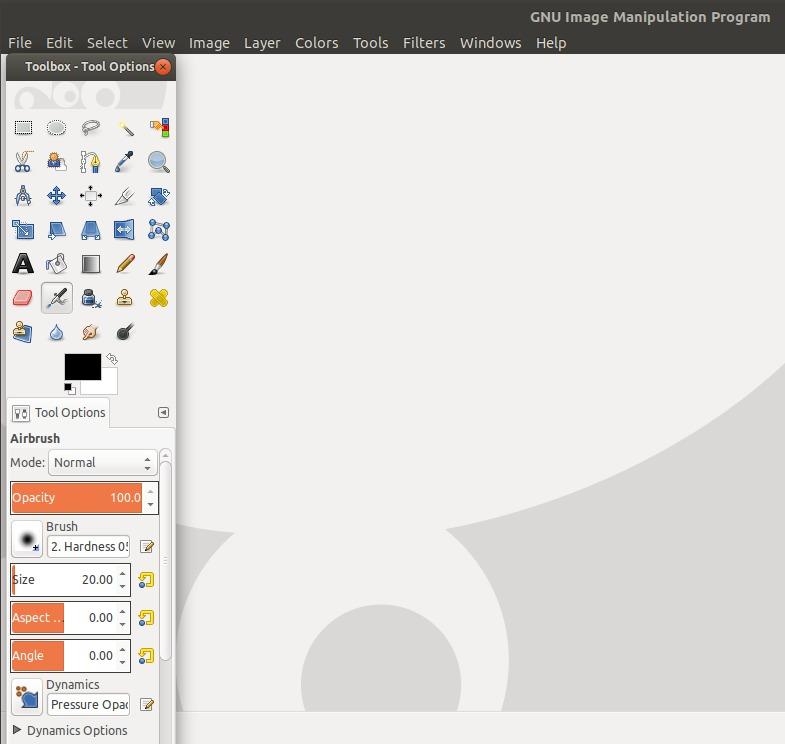 GIMP Image Editor