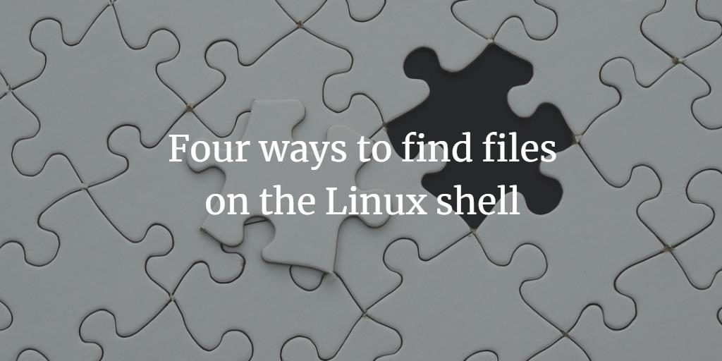 Linux Find files