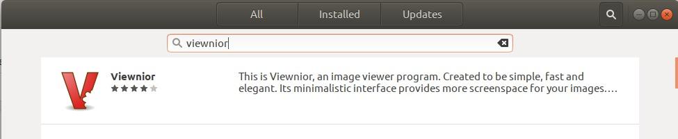 Viewnior Image viewer
