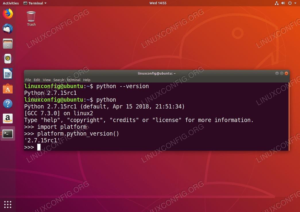 Check Python Version on Ubuntu Linux System