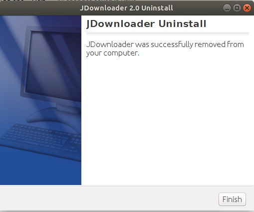 Uninstall completed