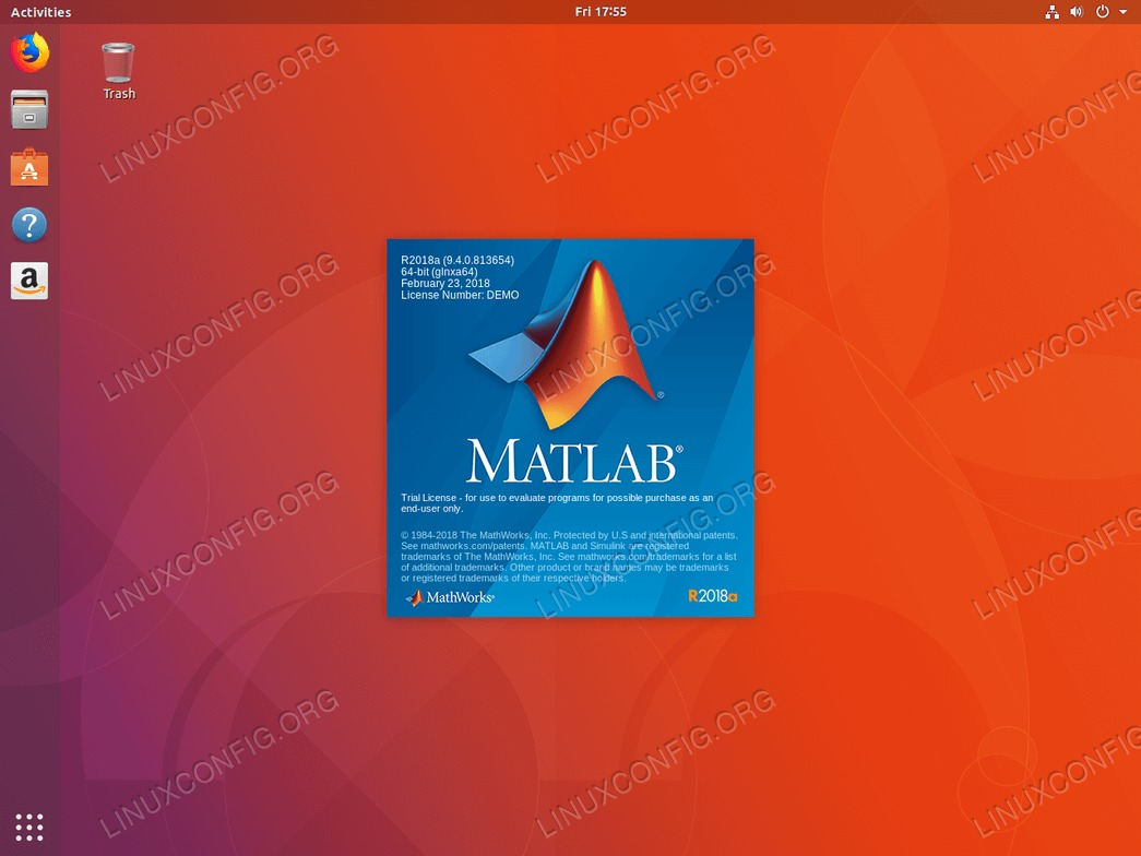 install matlab ubuntu 18.04 - Matlab is starting.