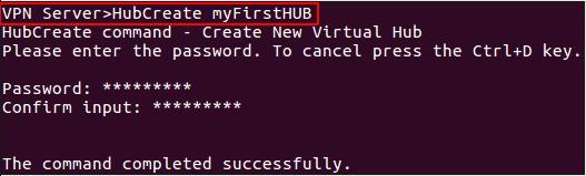 create virtual hub